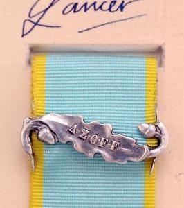 Crimea Azoff medal ribbon clasp bar