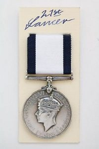 Royal Navy Conspicuous Gallantry medal
