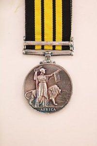 Africa Service Medal Kenya