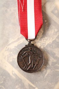 Irish reserve medal