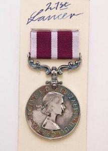ERII Meritorious Service medal