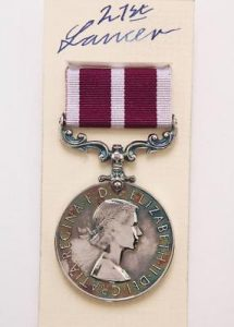 ERII Meritorious Service medal