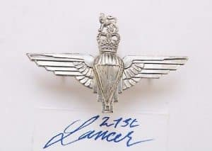 ERII Paratrooper badge