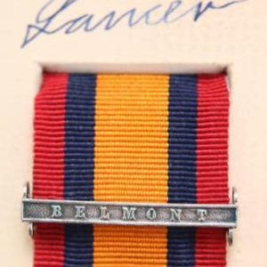QSA Belmont medal ribbon bar