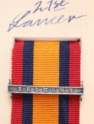 QSA Belmont medal ribbon bar