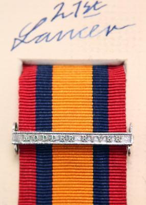 QSA Modder River medal ribbon bar