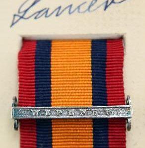QSA wepener medal ribbon bar