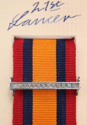 QSA Witteburgen medal ribbon bar