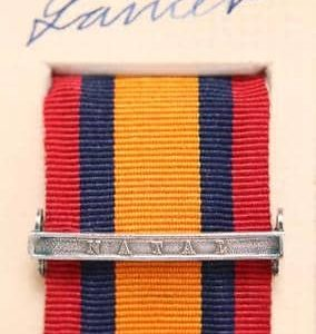 QSA Natal medal ribbon bar