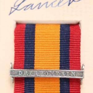 QSA Driefontein medal ribbon bar