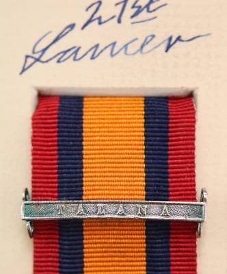 QSA Talana medal ribbon bar