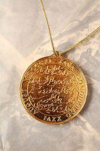 Java Medal gold
