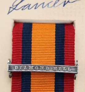 QSA Diamond Hill medal ribbon bar