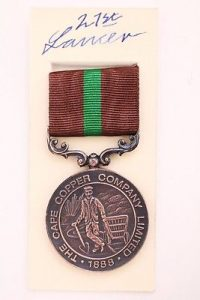 Ookiep cape copper co medal