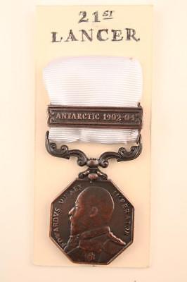 EDVII Antarctic Medal