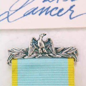 French Crimea Medal Brooch