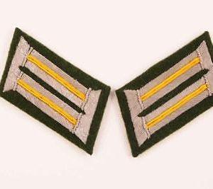 WW German army rank Collar Tabs