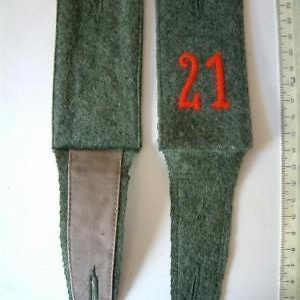 WW1 german shoulder boards