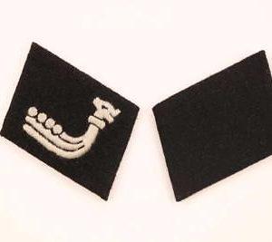 SS foreign legion collar tabs