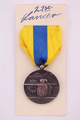 Somme Veteran medal
