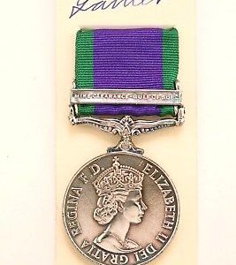 British forces Campaign service medal CSM