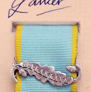 Crimea medal Balaklava clasp bar