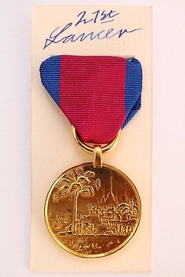Burma medal