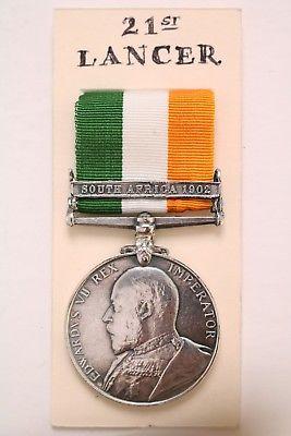 King's South Africa medal KSA