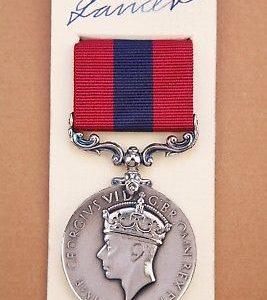 GVI Distinguished Conduct medal DCM