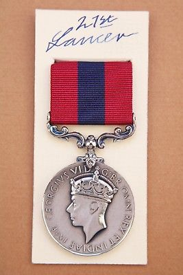 GVI Distinguished Conduct medal DCM