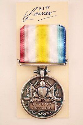 Gelat I Ghilzie Invicta medal