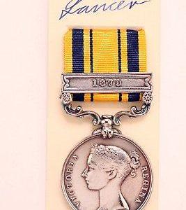 South Africa Zulu wars medal