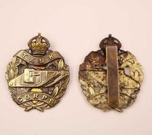 Tank cap badge