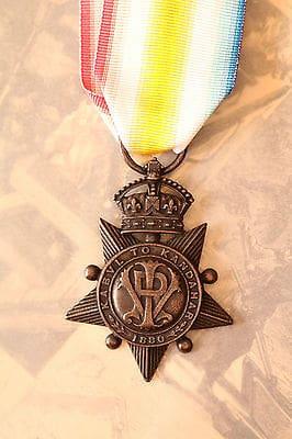 Robert's Star medal Kandahar
