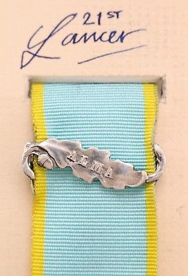 Crimea medal Alma bar clasp