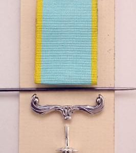 British service medal repair