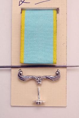 British service medal repair