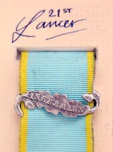 Crimea medal bar Inkermann ribbon clasp