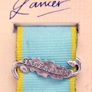 Crimea medal bar Inkermann ribbon clasp