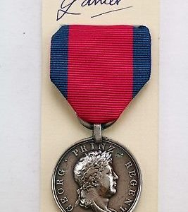 Honover Waterloo medal
