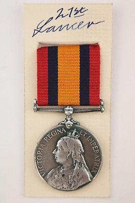 Queens Mediterranean medal