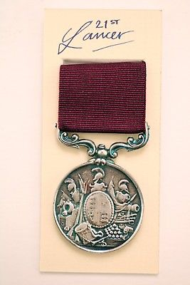British army long service medal