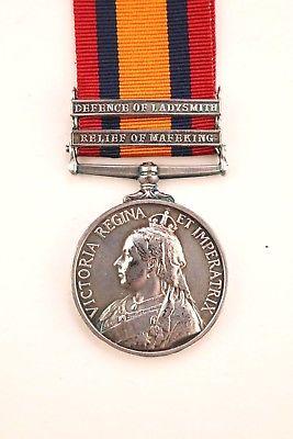 Boer War medal QSA