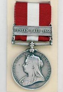 British Canada service medal