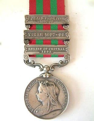 British India service medal