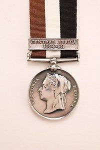 Central Africa Service medal