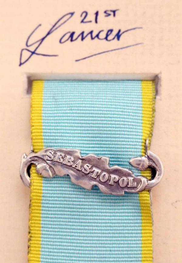 Crimea medal Sebastopol clasp bar