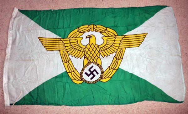 WW2 German police flag