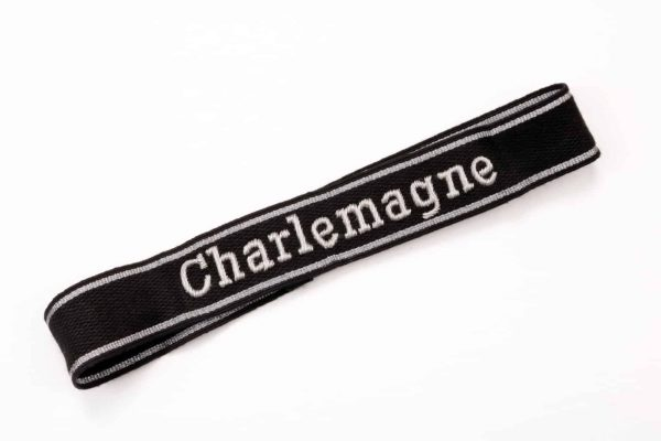 SS cuff title Charlemagne