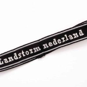 SS cuff title Landstrom Nederland